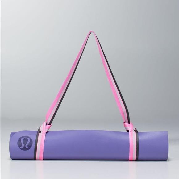 Lululemon Loop It Up Mat Strap Purple/Pink, OS